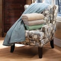 Serta Brand Luxe Plush Electric Warming Throw