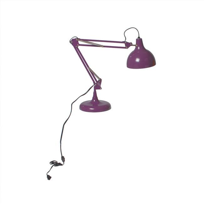 Euro Style Purple Lalla Desk Lamp