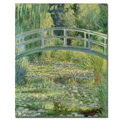 Claude Monet 'The Waterylily Pond Pink Harmony 1899' Canvas Art