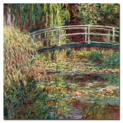 Claude Monet; 'Waterlily Pond Pink Harmony, 1900' Canvas Art
