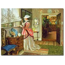 John Atkinson Grimshaw 'Summer' Canvas Art