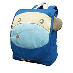EcoZoo Monkey II 11.5-inch Kid's Mini Backpack
