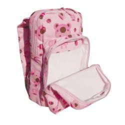 Dually Bear Print 12-inch Kids Backpack