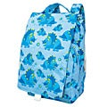 Dually Dinosaur Print 12-inch Blue Kids Backpack with Insulated Cooler