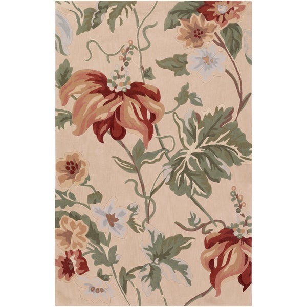 Hand-tufted Cuneo Beige Rug (2' x 3')