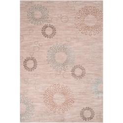 Hand-tufted Ameila Gold Rug (2' x 3')