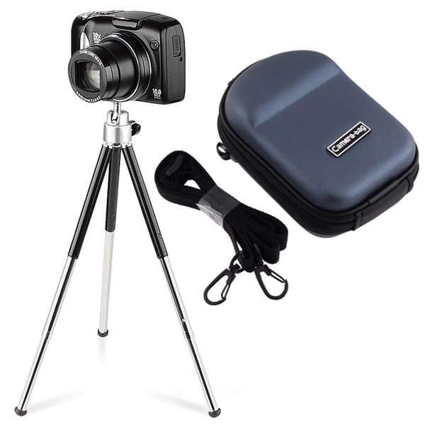 BasAcc Case/ Tripod for Nikon CoolPix S9100/ S6100/ S4100/ S3100