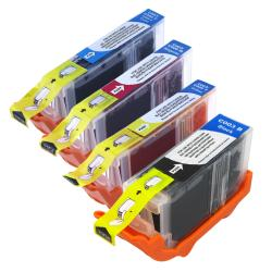 INSTEN Cyan/ Yellow/ Magenta/ Black Ink for Canon Pixma iP3000/ iP4000