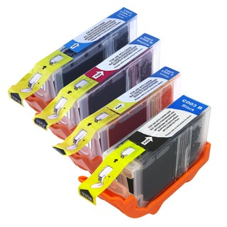 BasAcc Cyan/ Yellow/ Magenta/ Black Ink for Canon Pixma iP3000/ iP4000