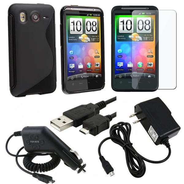 BasAcc Case/ Chargers/ LCD Protector/ USB Cable for HTC Inspire 4G