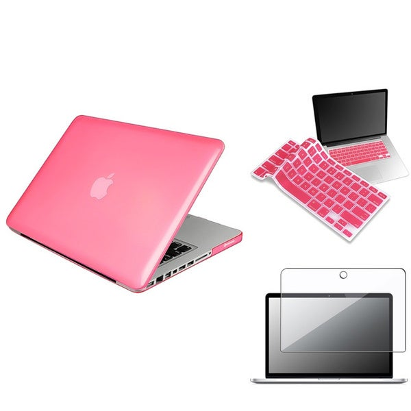 INSTEN Laptop Case Cover/ Keyboard Skin/ Protector for Apple MacBook Pro 13-inch