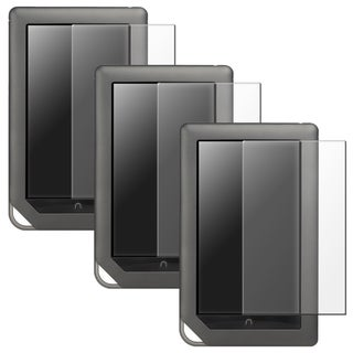 BasAcc Anti-glare LCD Protector for Barnes & Noble Nook Color (Pack of 3)