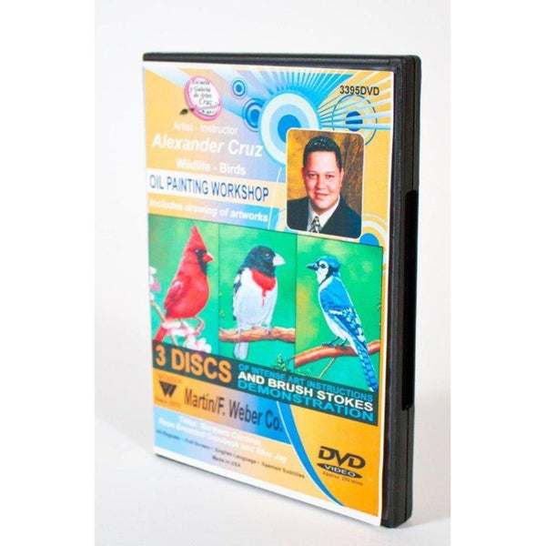 Weber Art Alexander Cruz Oil Painting Workshop 3-Disc DVD