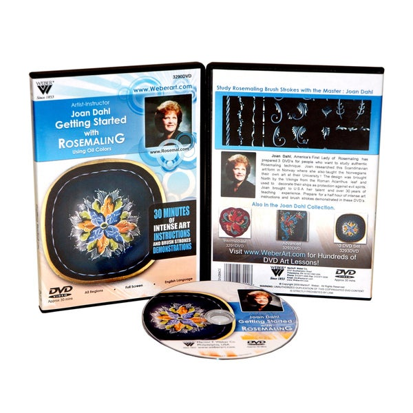 Weber' Getting Started with Rosemaling Oil Painting' DVD