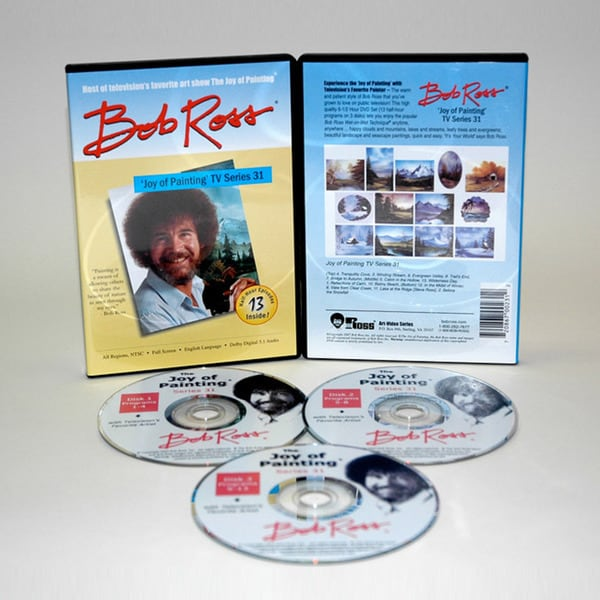 Weber Bob Ross Joy of Painting 13-show DVD