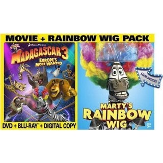 Madagascar 3: Europe's Most Wanted (Blu-ray/DVD) 9603016