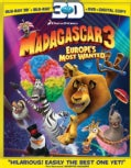 Madagascar 3: Europe's Most Wanted 3D (Blu-ray Disc)