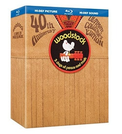 Woodstock: 3 Days of Peace and Music Director's Cut 40th Anniversary Ultimate Collectors Edition (Blu-ray Disc)
