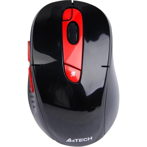 A4Tech Red 7 Buttons USB Wireless 2000 dpi via Ergoguys