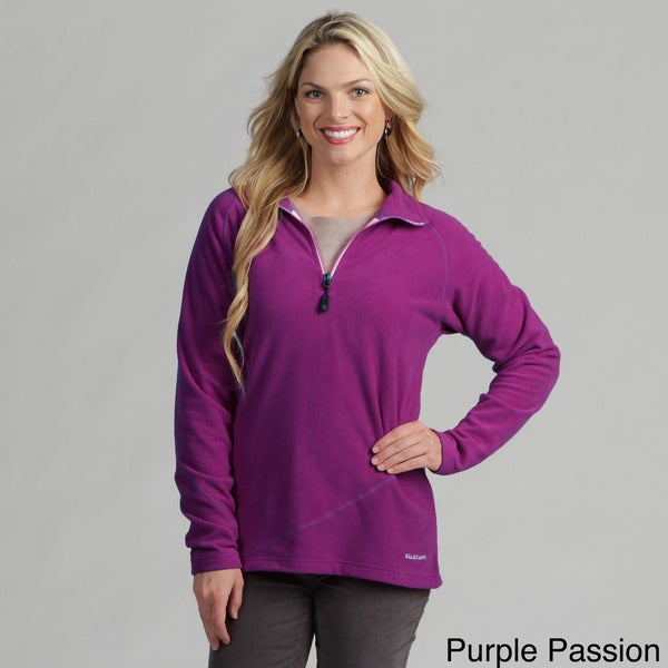 Boulder Gear Women's Micro Fleece Quarter-zip Pullover