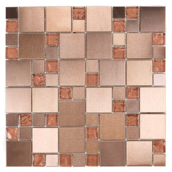 Urban Metal Collection ICL H-471 Mosaic Sheets (Set of 11)