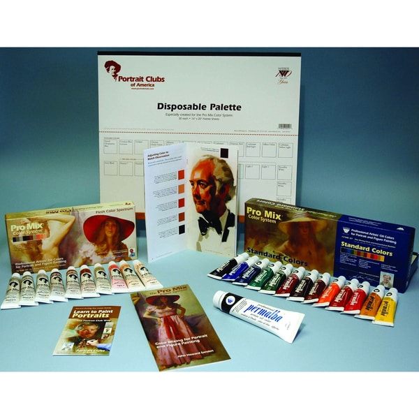 Weber John Sanden Deluxe Pro Mix Color System - Colors/Palette