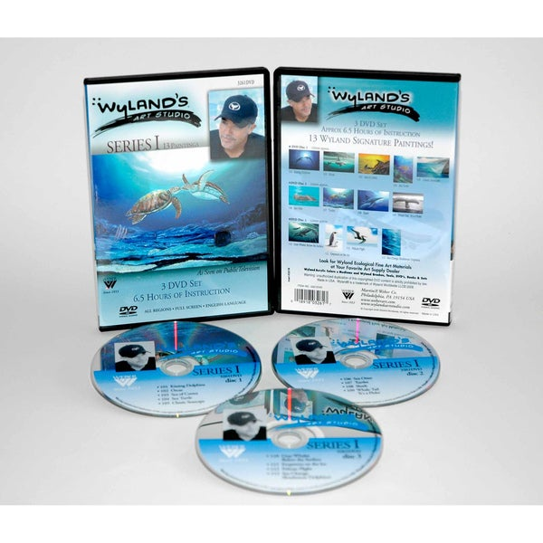 Weber Wyland Art Studio DVD 13 Episodes Series 1