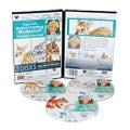 Weber Harris DVD Set Animal Oil Painting - Fawn Baby Jack Rabbits & Squirrel. Includes 3351, 3352, 3353 DVDs. 3 Hour