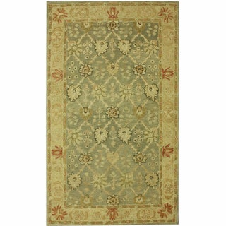 nuLOOM Hand-spun Decorative Persian Natural New Zealand Wool Rug (8' x 10')