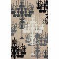 Handmade Chandelier Natural Rug (5' x 8')