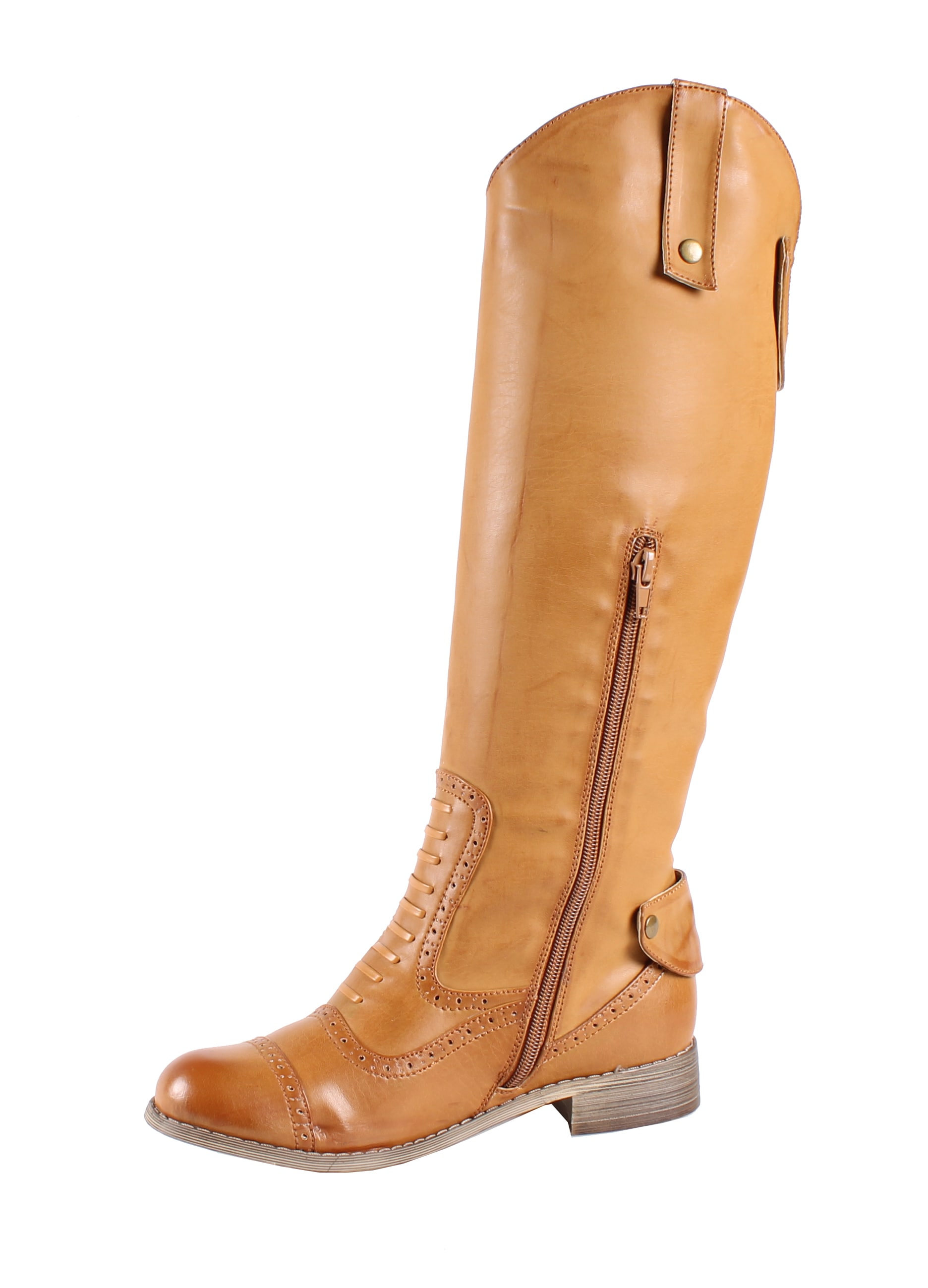 Jacobies by Beston Women's 'Cowgirl-4' Knee High Riding Boots