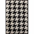 nuLOOM Hand-tufted Spectrum Houndstooth Wool Rug (6' x 9')