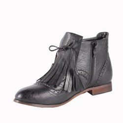 Jacobies by Beston Women's 'Oxy-3' Ankle Bootie