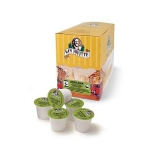 Van Houtte Africana Medium Fair Trade/ Organic Medium Roast Coffee K-Cups for Keurig Brewers (Pack of 96)