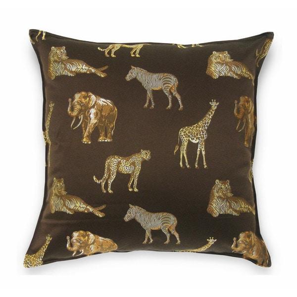 Safari Brown 24-inch Pillow