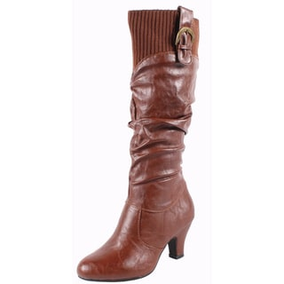 Blossom by Beston Women's 'Brand-20' Knee High Boots