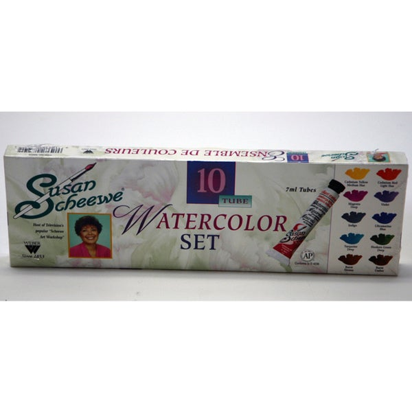 Weber Susan Scheewe 10 Tube Watercolor Set