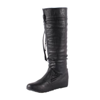 Jacobies by Beston Women's 'El-8' Knee High Boots