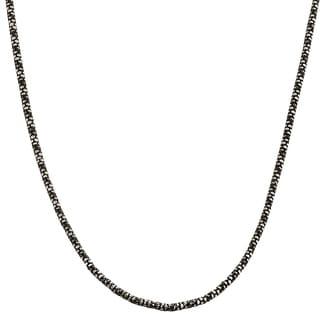 Fremada Sterling Silver Python Popcorn Necklace (16 - 30 inch)