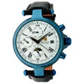 Steinhausen Mens Three Eyes Automatic Blue Case with White Dial