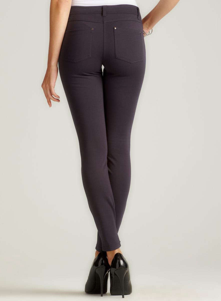 Romeo & Juliet Couture Skinny Ponte Pant