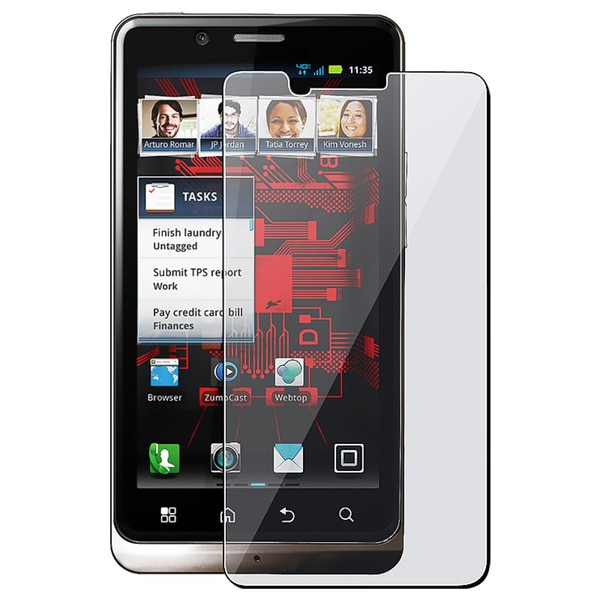 INSTEN Clear Screen Protector for Motorola Droid Bionic XT875 (Pack of 5)