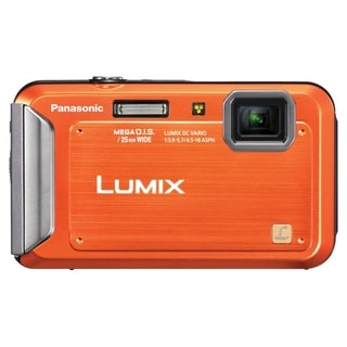 Panasonic Lumix DMC-TS20 16.1 Megapixel Compact Camera - Orange