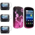 BasAcc Rubber Case/ Screen Protector for Samsung Stratosphere i405