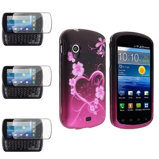 BasAcc Rubber Case/ Screen Protector for Samsung� Stratosphere i405