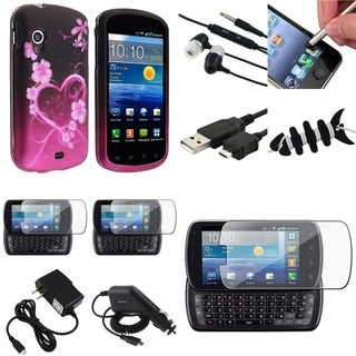 BasAcc Case/Screen Protector/Stylus Set for Samsung� Stratosphere i405