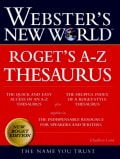 Webster's New World Roget's A-Z Thesaurus (Hardcover)