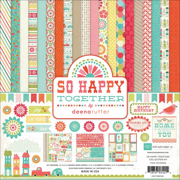 """So Happy Together Collection Kit 12""""X12""""-"""