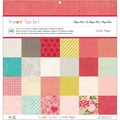 "Crate Paper Paper Pad 12""X12"" 48 Sheets-Paper Heart 24 Designs/2 Each"