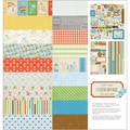 Little Boy Blue Collection Kit 12&quot;X12&quot;-9 Designs/2 Each